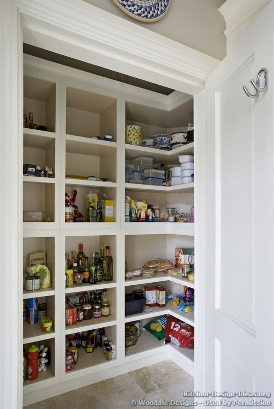 Walk in pantry shelving ideas walk in pantry by woodale for Walk in pantry
