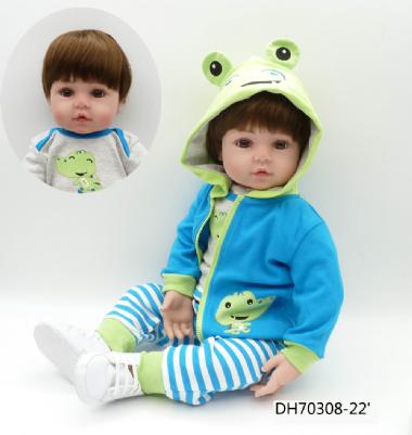 f3e714e00 Boneca Bebê Reborn Realista Menino 55 cm Silicone - 12x sem juros Frete  Grátis! R82