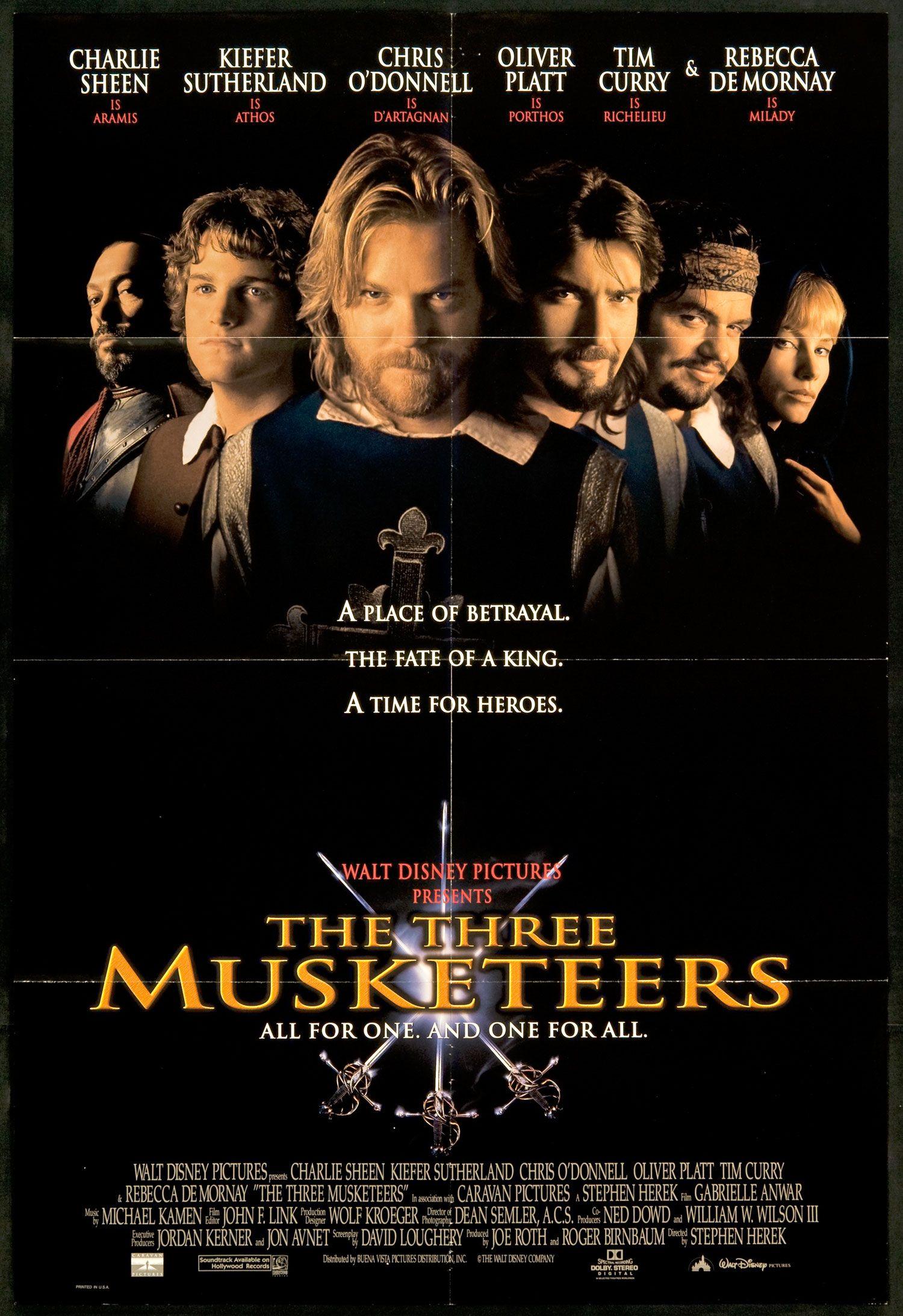 The Three Musketeers 1993 Full Movie Viooz