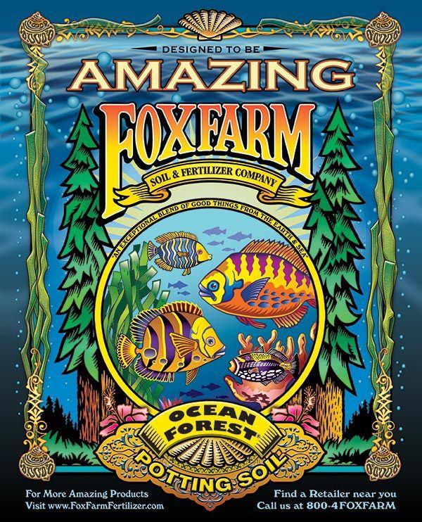 Full Page Magazine Ad For Foxfarm Ocean Forest Potting Soil Big Blooms Potting Soil Soil