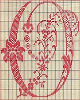 alfabeto antico punto croce 14 sticken pinterest point de croix points et croix. Black Bedroom Furniture Sets. Home Design Ideas