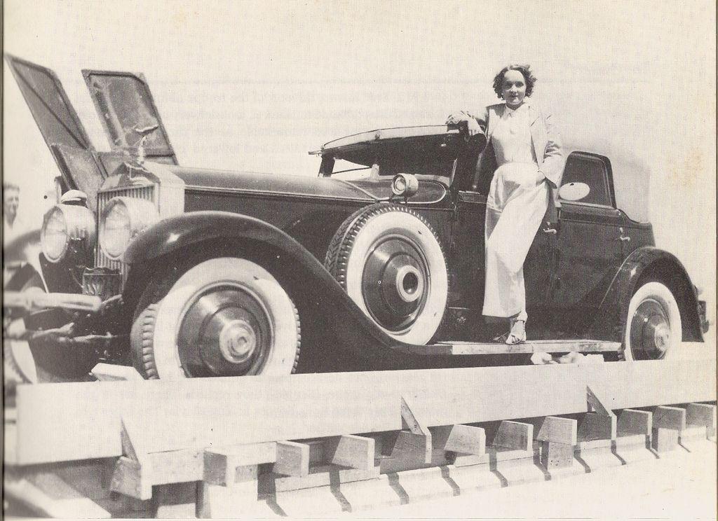 Marlene Dietrich and his Rolls Royce | Rolls royce, Rolls royce ...