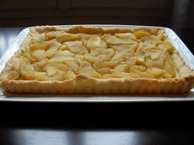 Un panda dans la cuisine: Tarte aux pommes et son crumble