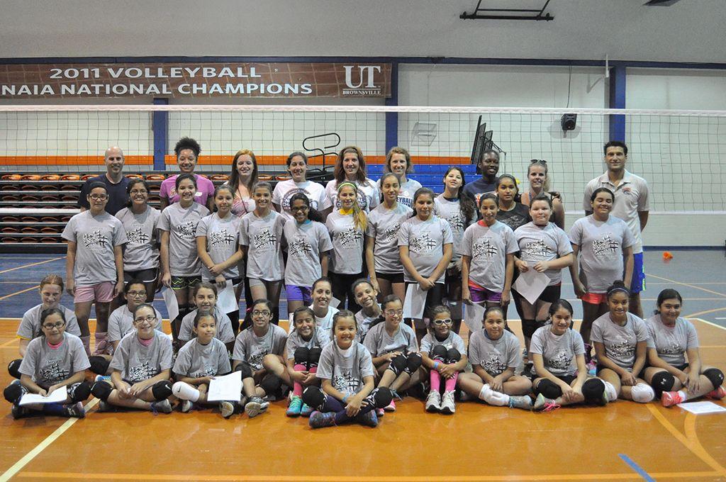 Utb Women S Volleyball National Champion Ocelots Holds All Skills Camp Http Www Utbathletics Com Article 2140 P Women Volleyball National Champions Athlete
