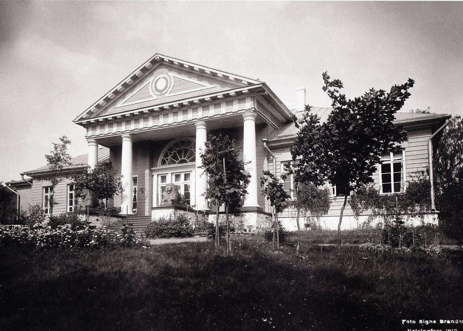 Saarelan kartano 1912