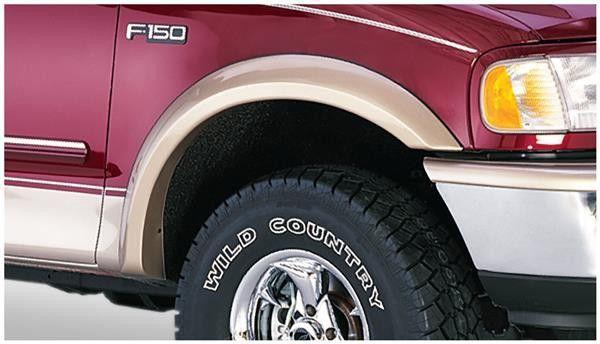 Bushwacker 20033-11 Fender Flare, Set of 2 Front