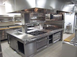 Commercial Kitchen Exhaust Canopy Melbourne