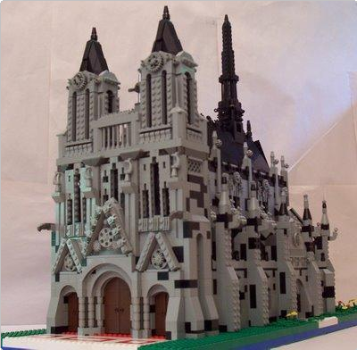 Lego Moc Lego Cathedral Project Lego Cathedrals Pinterest