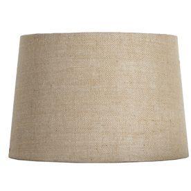 Portfolio 10 in x 15 in burlap drum lamp shade family room portfolio 10 in x 15 in burlap drum lamp shade aloadofball Choice Image