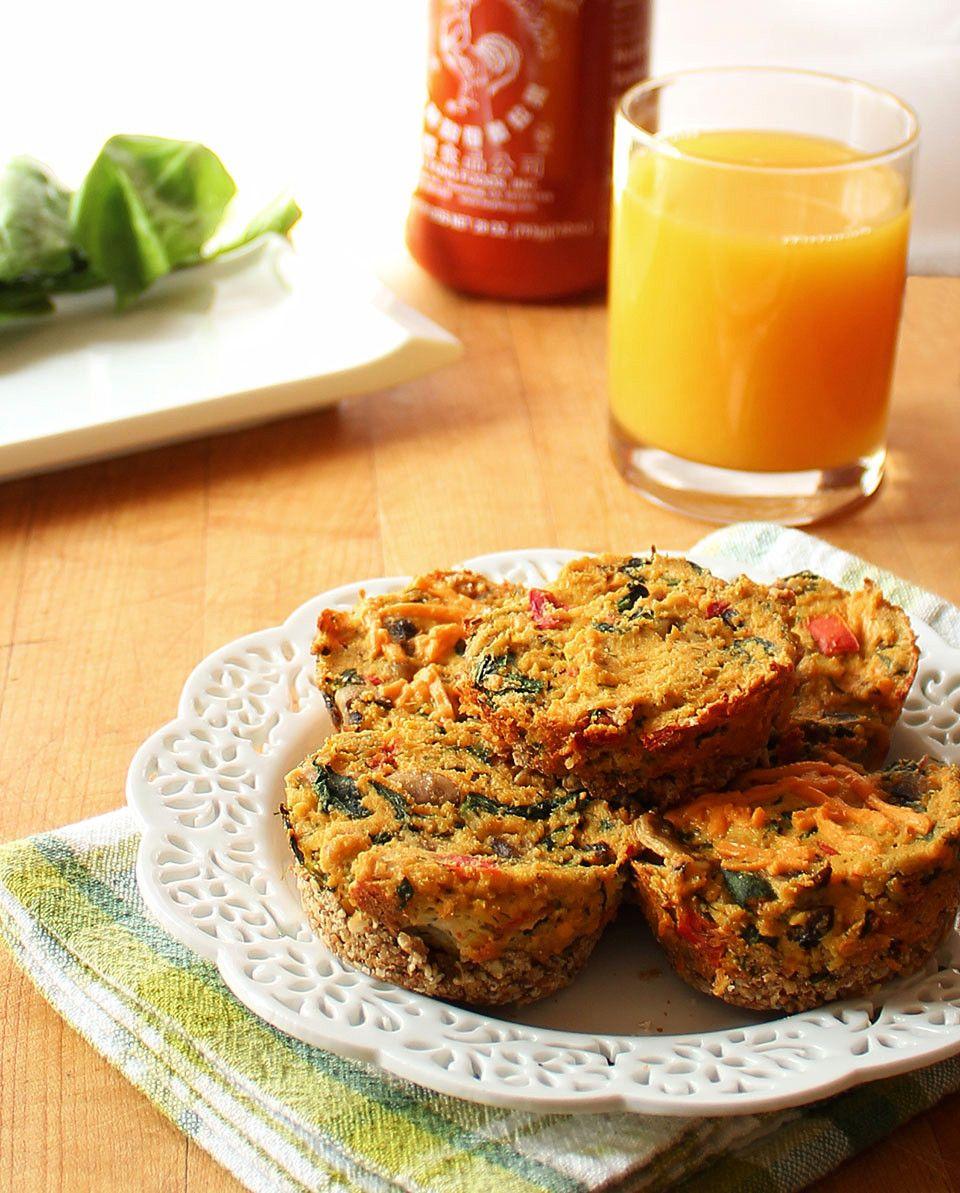 Vegan Spinach & Mushroom Mini Quiches http://www.ilovevegan.com/vegan-spinach-mushroom-mini-quiches/