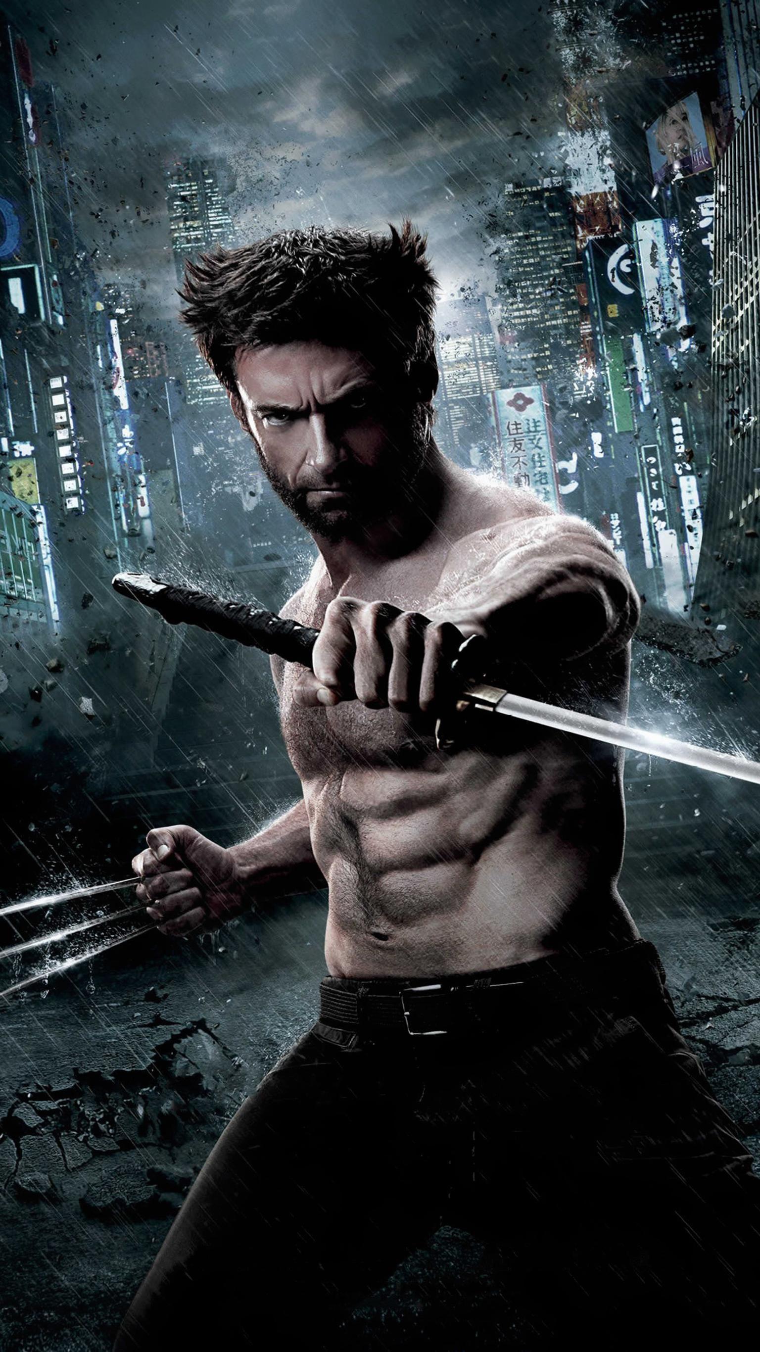 The Wolverine 2013 Phone Wallpaper Wolverine Imortal Filmes