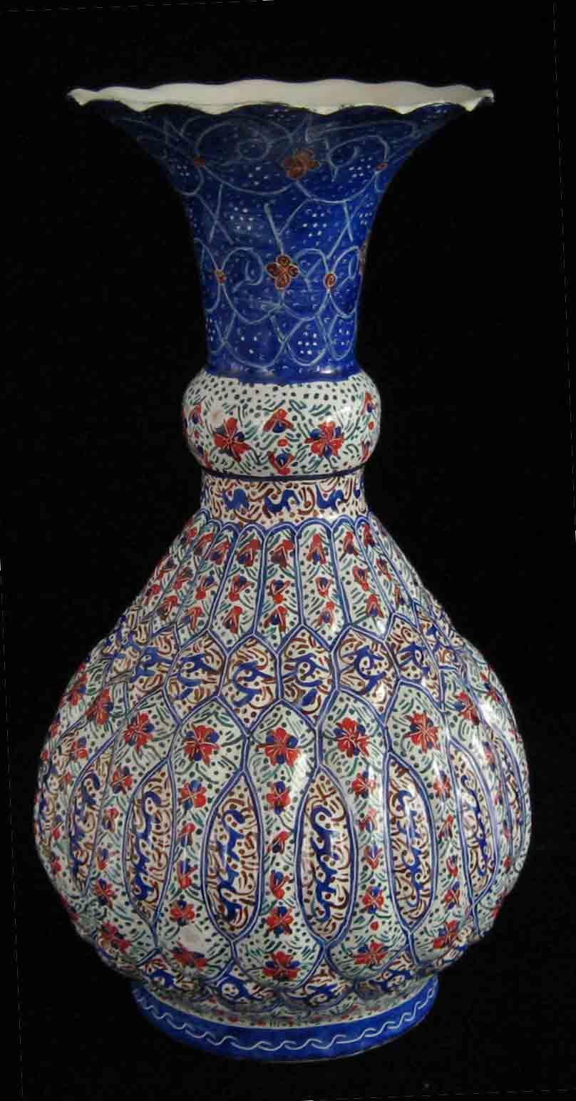 گلدان مینا Islamic Art Persian Culture Copper Art
