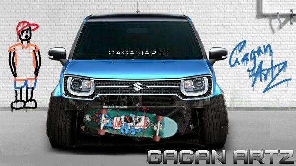 Suzuki Ignis Virtual Tuning Gaganartz スズキ イグニス 自動車