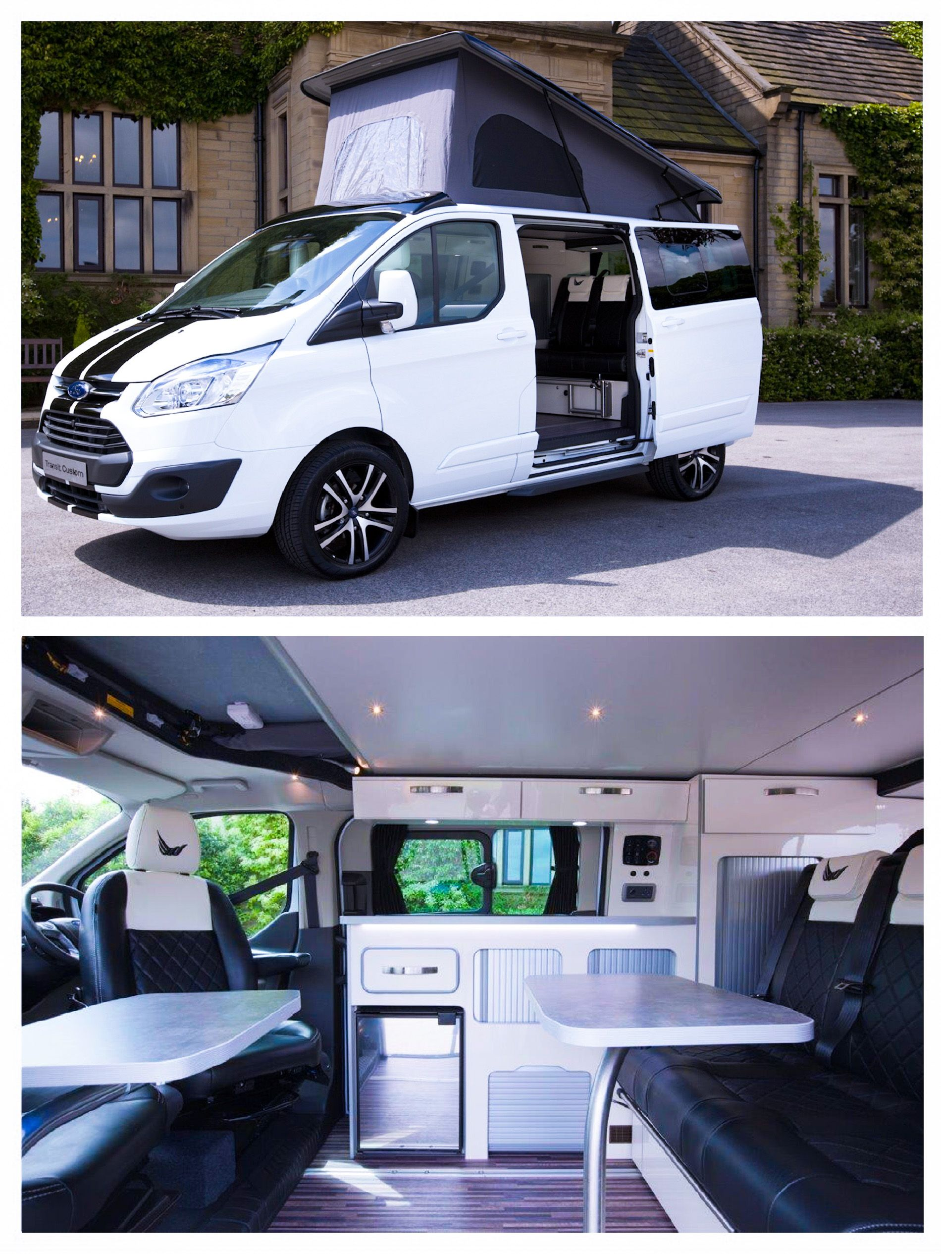 ford tourneo custom camper http motorhomeandcampervan. Black Bedroom Furniture Sets. Home Design Ideas