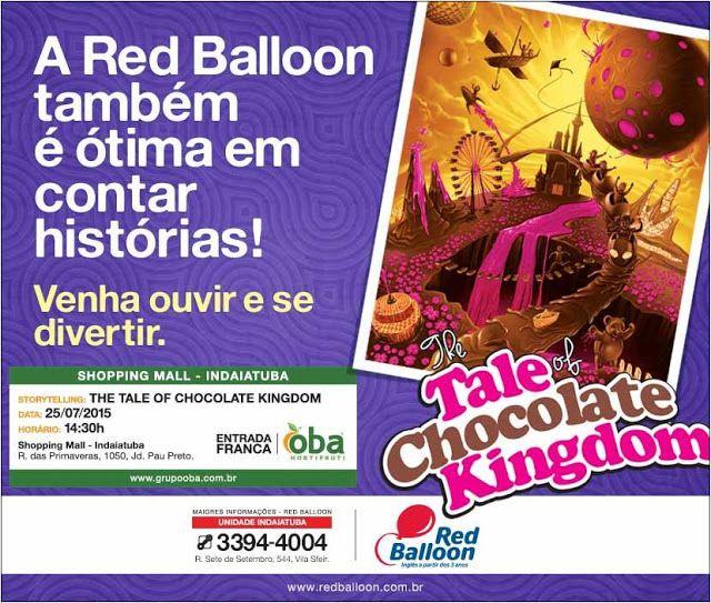 SOCIAIS CULTURAIS E ETC.  BOANERGES GONÇALVES: Contação de histórias na Red Balloon - imperdível ...