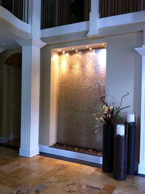 Indoor Waterfalls Indoor Water Features Water Feature Wall