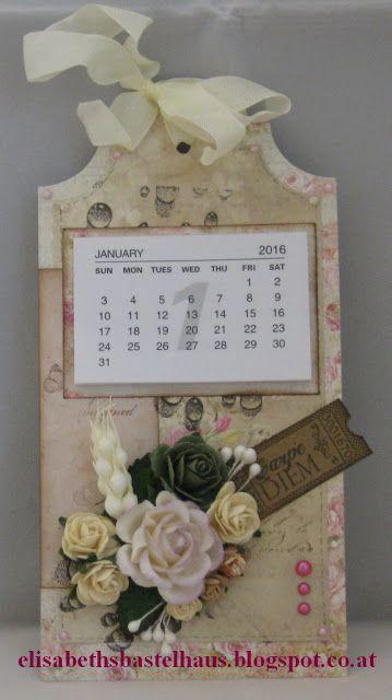 Elisabeth´s Bastelhaus: Minikalender-Tag