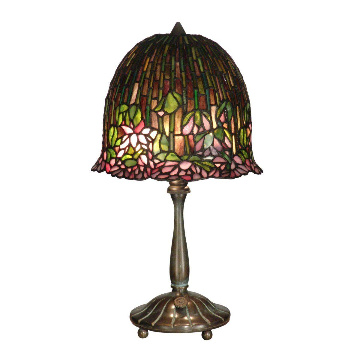 Dale Tiffany Lotus Flower Table Lamp Lampade Tiffany Lampade Tiffany