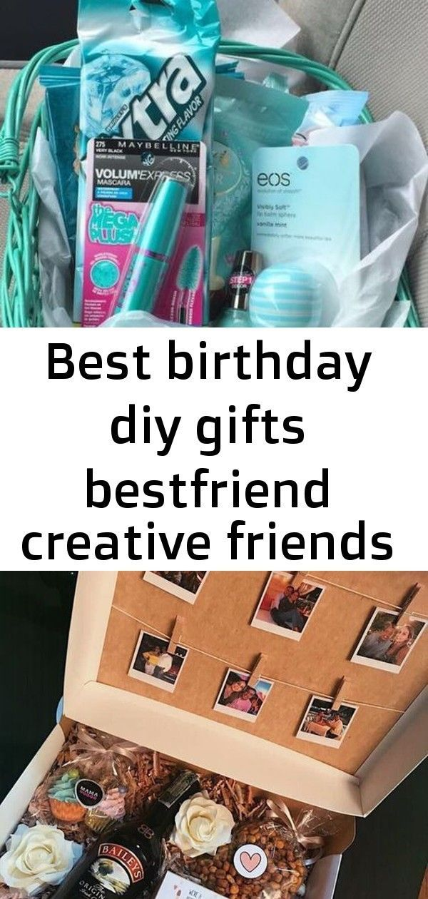 Best birthday diy gifts bestfriend creative friends 29 ideas    Unique and Creative DIY Valentine's Day gift baskets for the best of him 19 DIY Gifts For Long Distance Boyfriend That Show You Care Our specialised gifts for your partner are suitable for any occasion #boyfriendgiftbasket