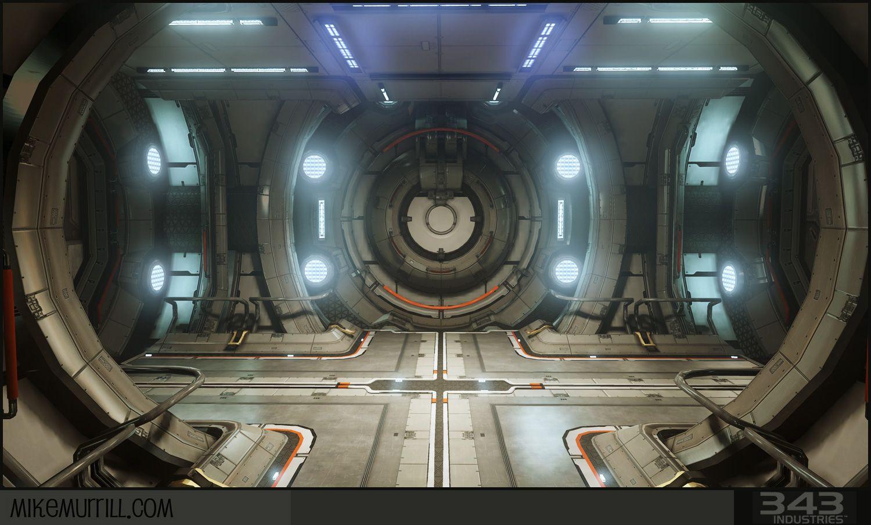Halo4 1500 904 scifi cyberpunk for Interior nave espacial