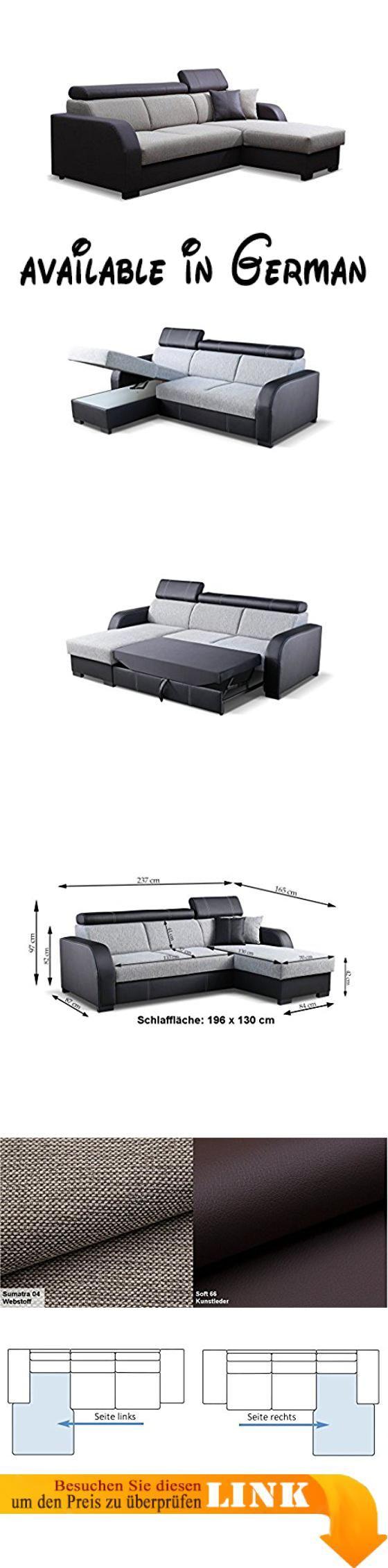 B06xj2j8v1 Couch Mit Schlaffunktion Eckcouch Ecksofa