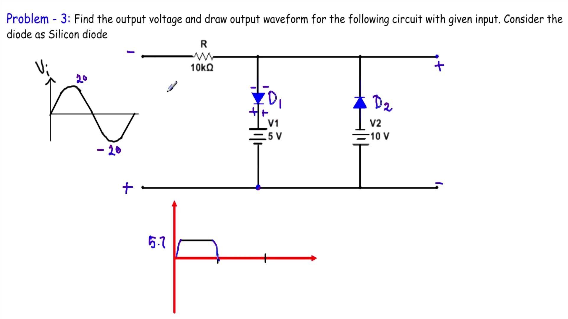 Unique Circuit Diagram Analysis Sample Diagram Diagramtemplate Diagramsample