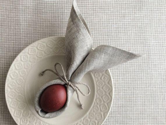 table napkins set of 6 light linen napkins 13 inch square wedding table serving napkins. Black Bedroom Furniture Sets. Home Design Ideas