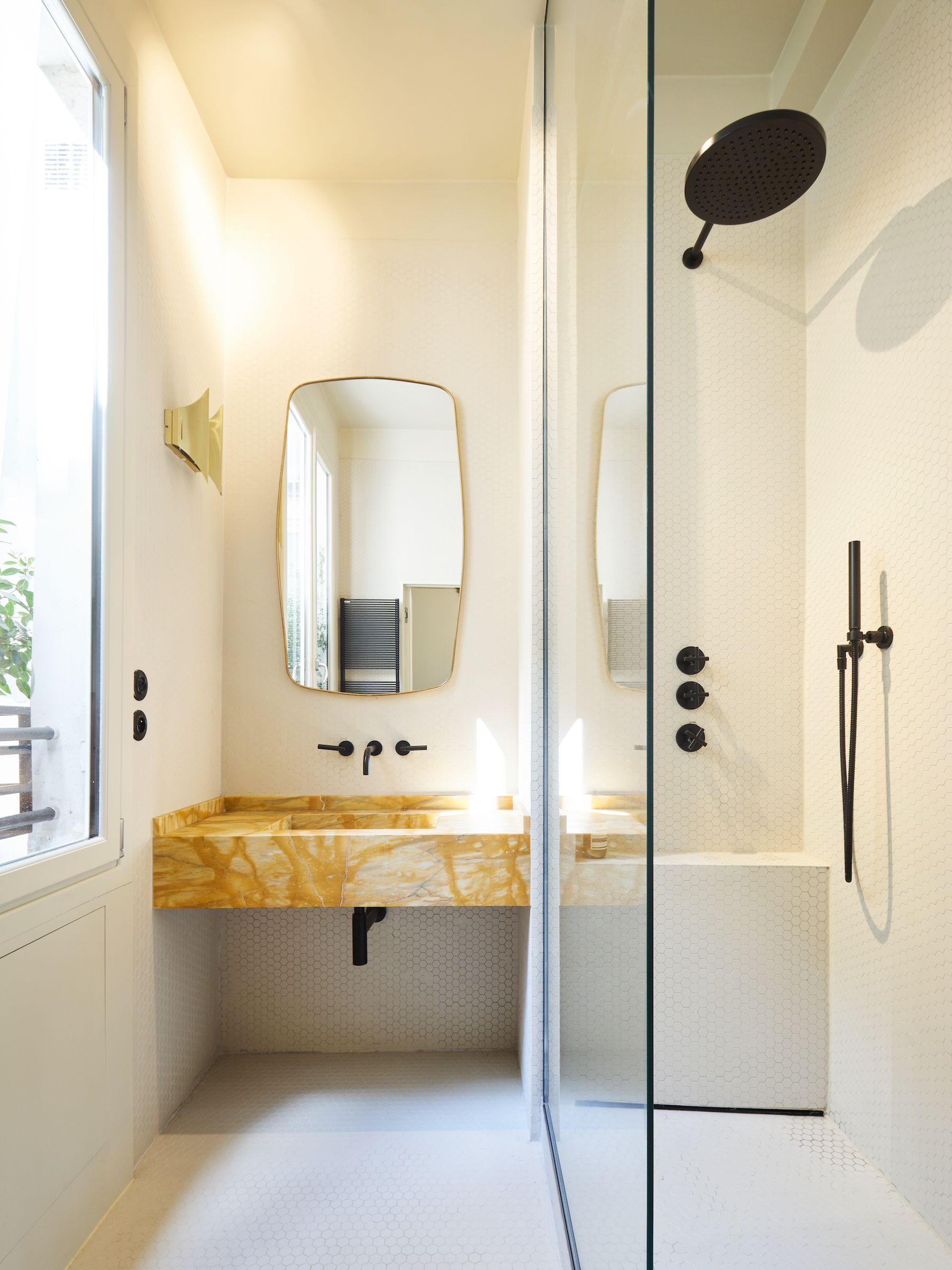 Poissonniere Furnituresanitary Ware Bathroom Modern Bathroom - Nice-apartment-bathrooms