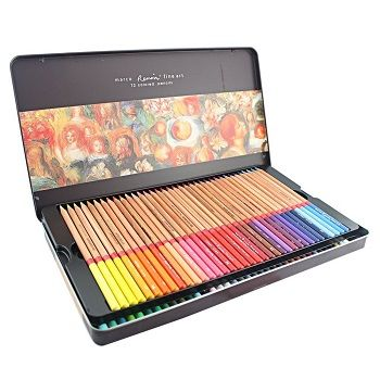 Marco Renoir Watercolor Pencils Review Best Colored Pencils