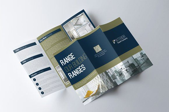 Business Tri Fold Brochure Template Tri Fold Brochure Brochures - Business tri fold brochure templates