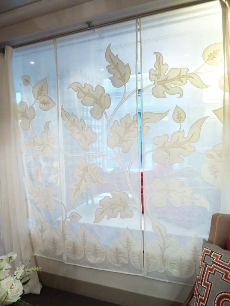 Sliding Panel Track Blinds: Panel Track Blinds Make It Possible To Vary Both The View