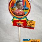 Disney Cars Personalized Chocolate Lollipop or Cookie Favor