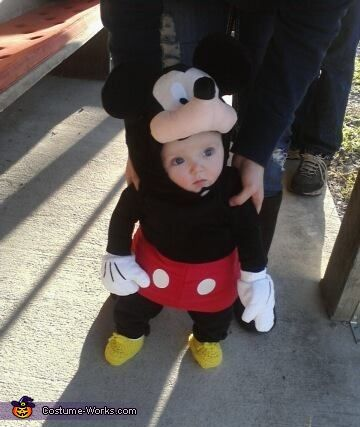 disneys mickey mouse costume - Infant Mickey Mouse Halloween Costume