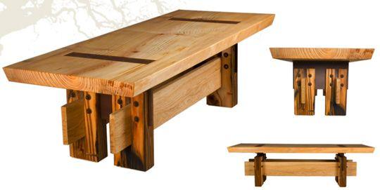 Varian Designs: Reclaimed Wood Furniture