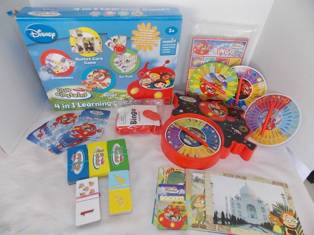 24 Disney Jr Little Einsteins Stickers Labels Bag Lollipop Party Favors Birthday