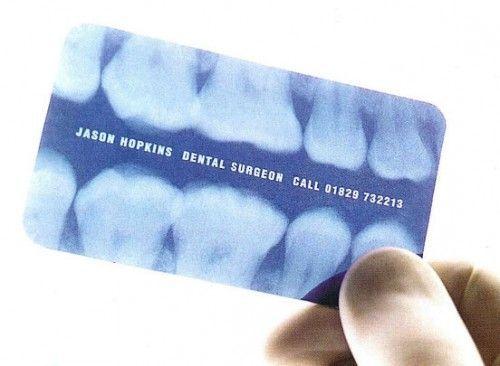 14 tarjetas de visita de odontológos que deberías conocer (I)
