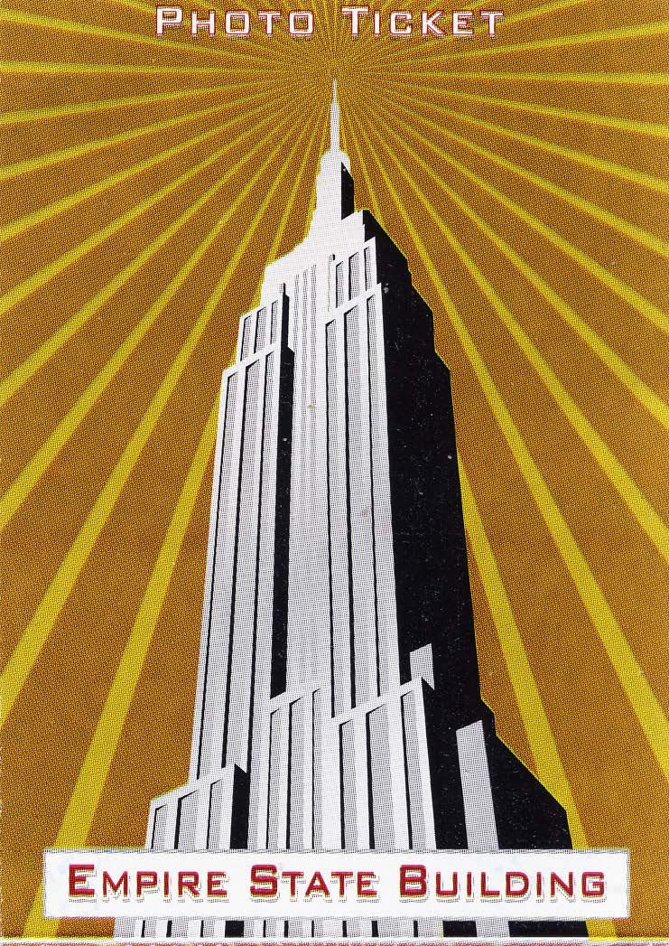 Monumento: Empire State Building @ New York City, USA a 10 de Novembro de 2012. Photo Ticket.