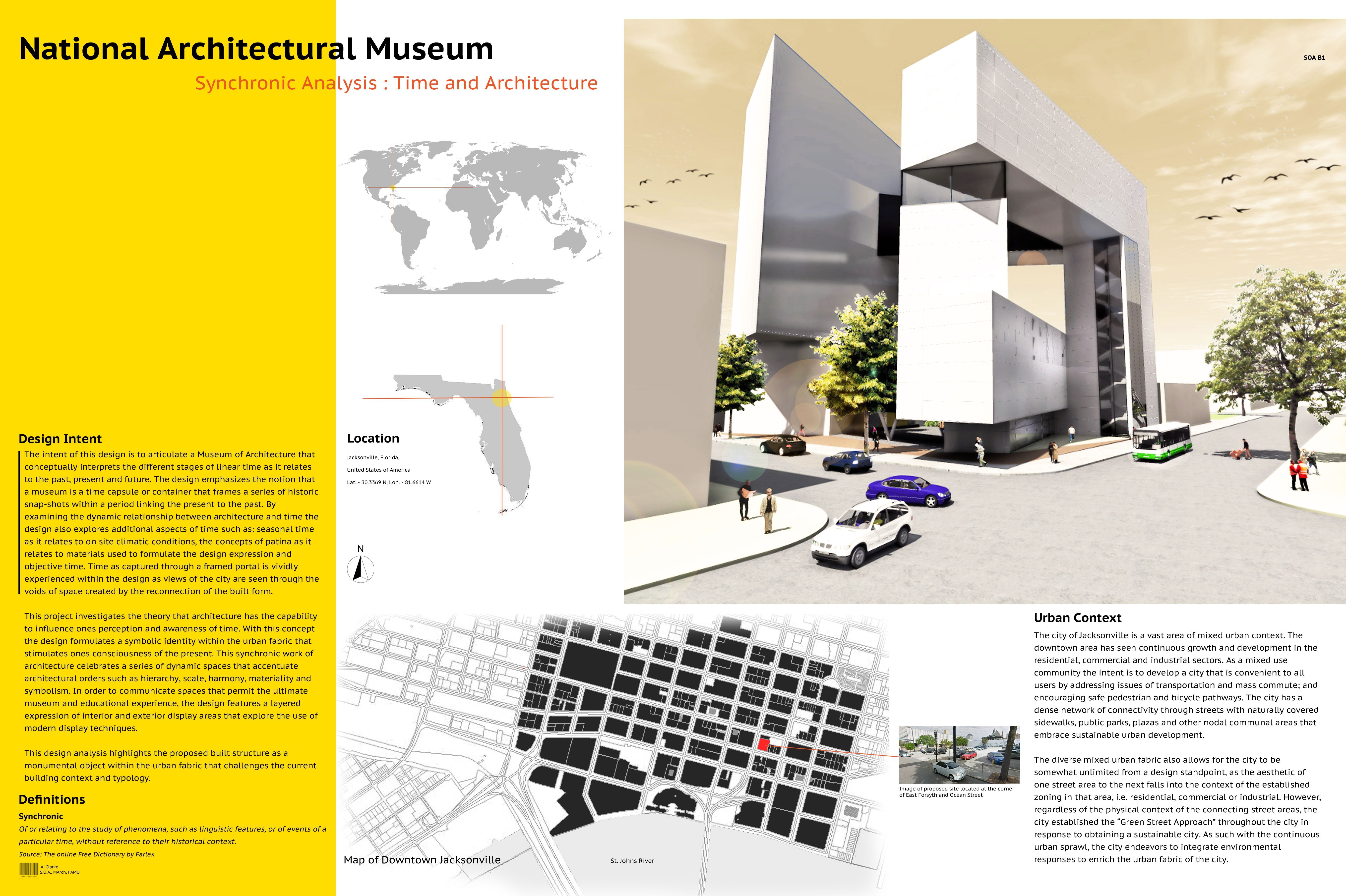 museum presentation board 1 | schematic proposal for a museum, Presentation templates