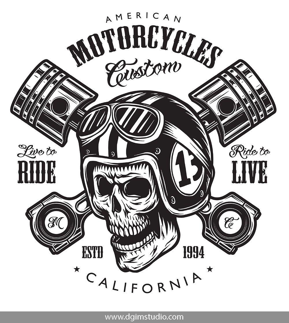 Motorcycle Bundle Motorcycle Logo Logo Templates Motorbike Logo