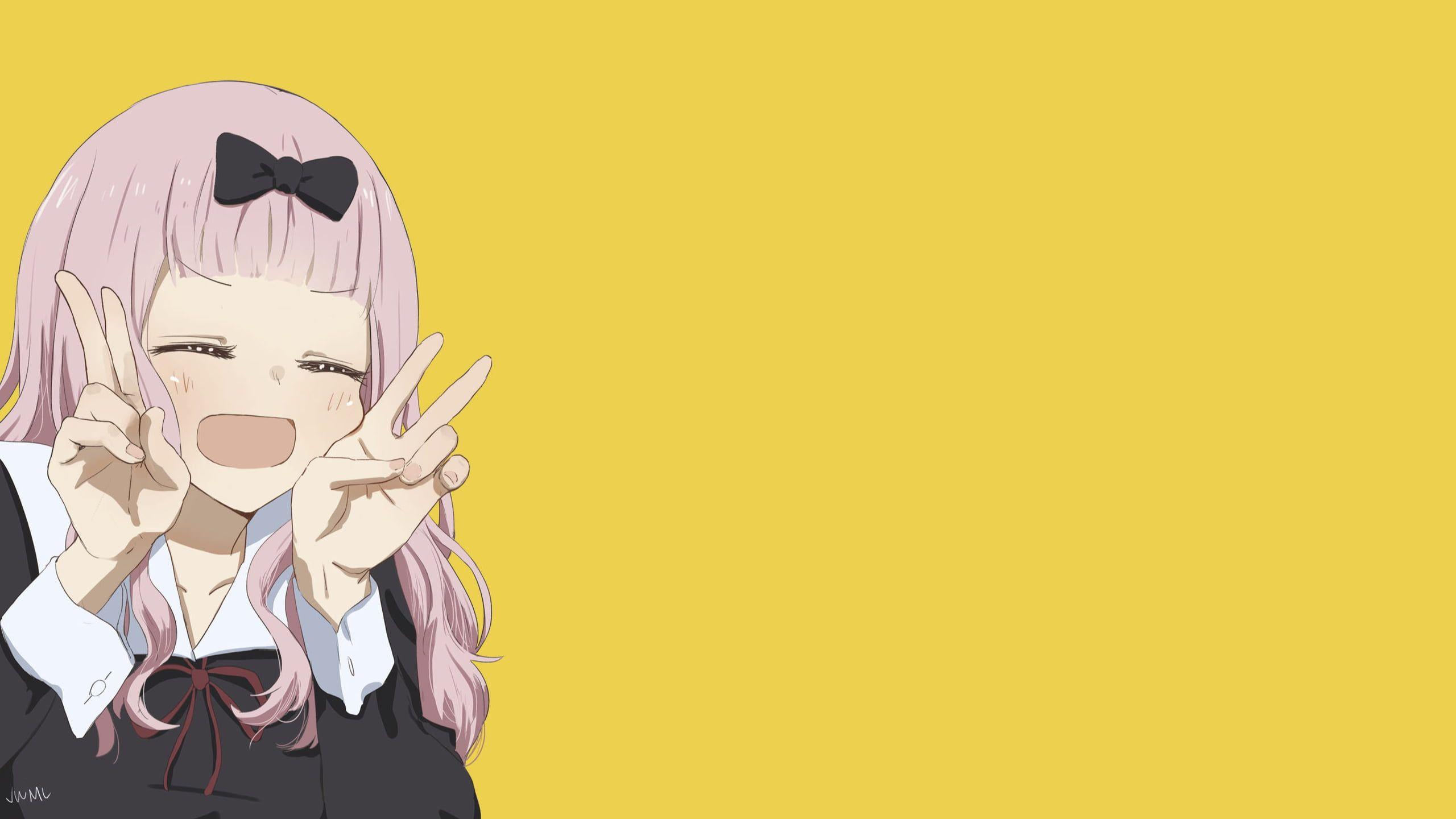 anime anime girls KaguyaSama Love is War Chika Fujiwara