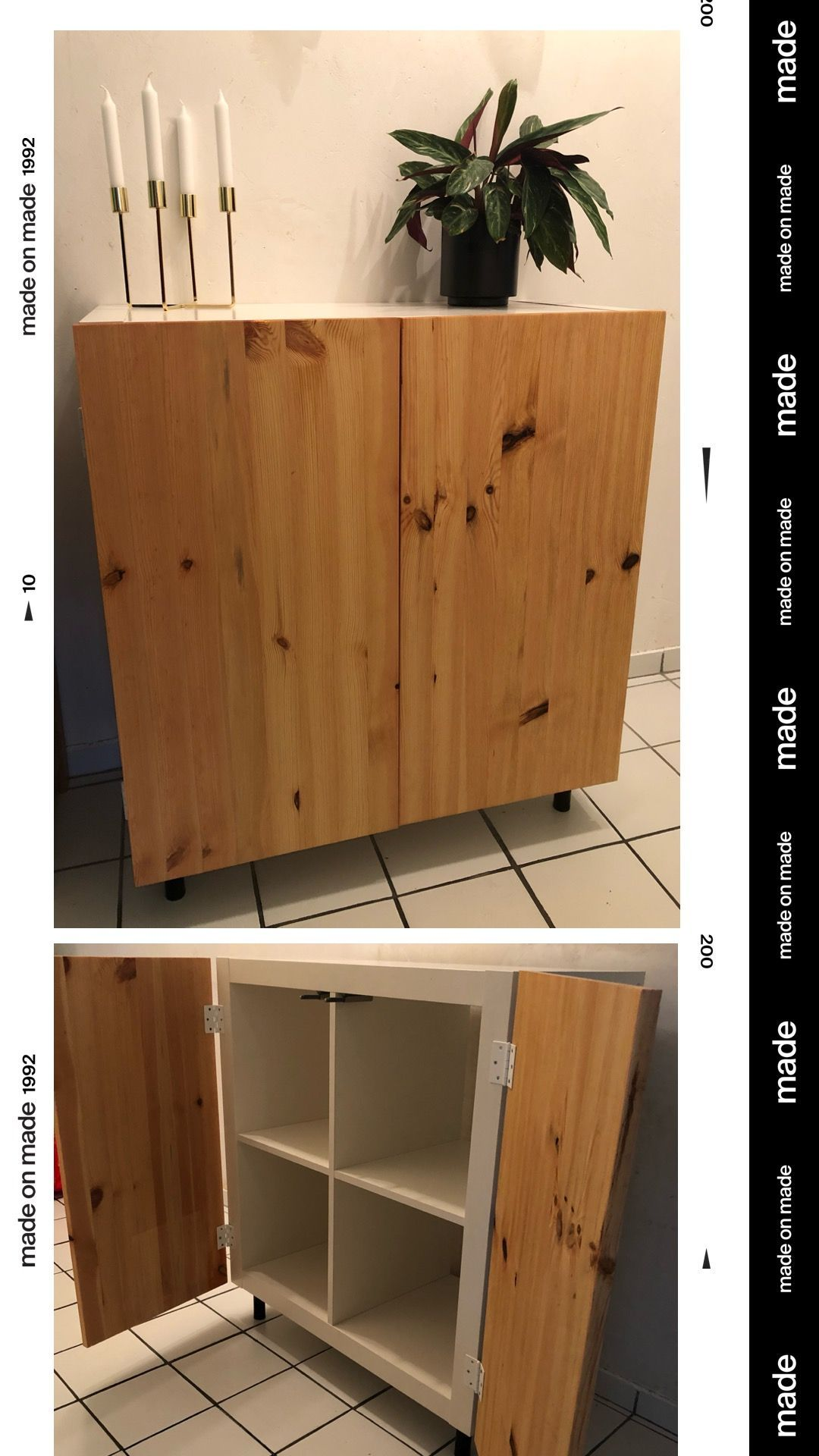 IKEA Kallax einmal Anders