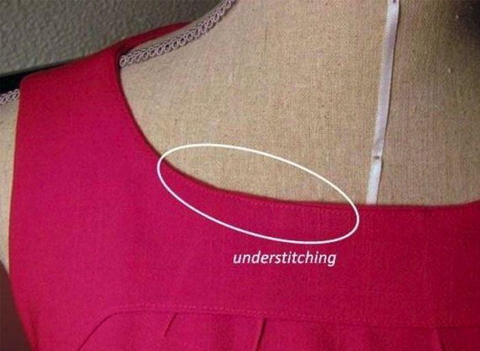 Den vigtigste syteknik når du skal sy for i en jakke