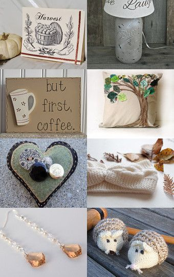 Lovely Autumn Finds... --Pinned with TreasuryPin.com