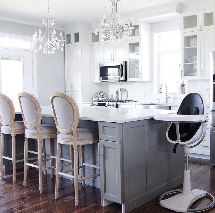 White Grey Modern Kitchen From Jessicamayxoxo With Bloom Fresco
