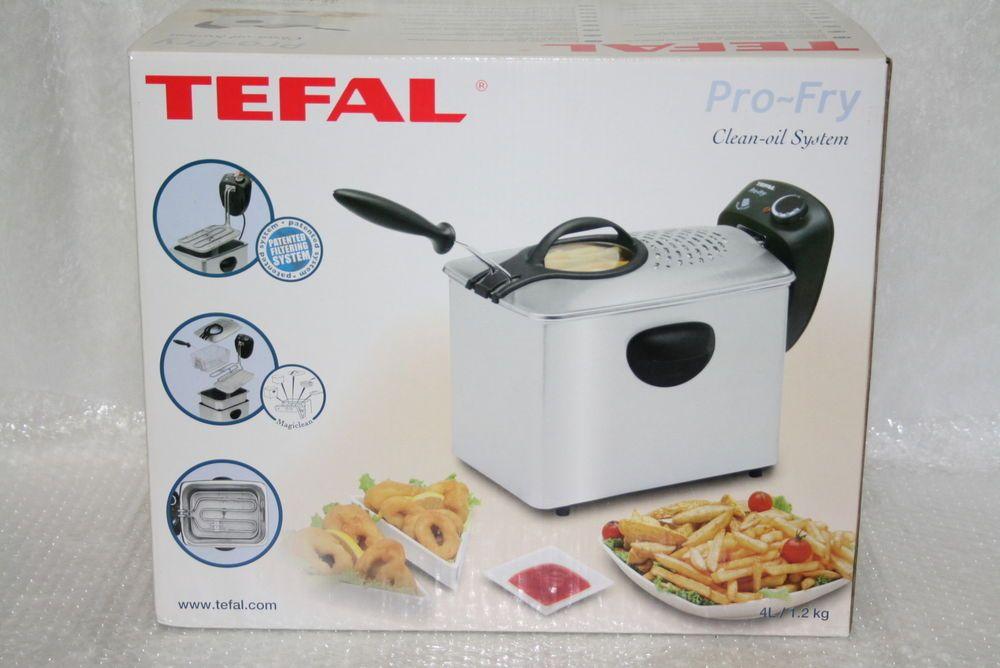 Tefal Friteuse Pro Fry 4 Liter Serie F33 2300 Watt NEU   OVP - ebay küchen neu