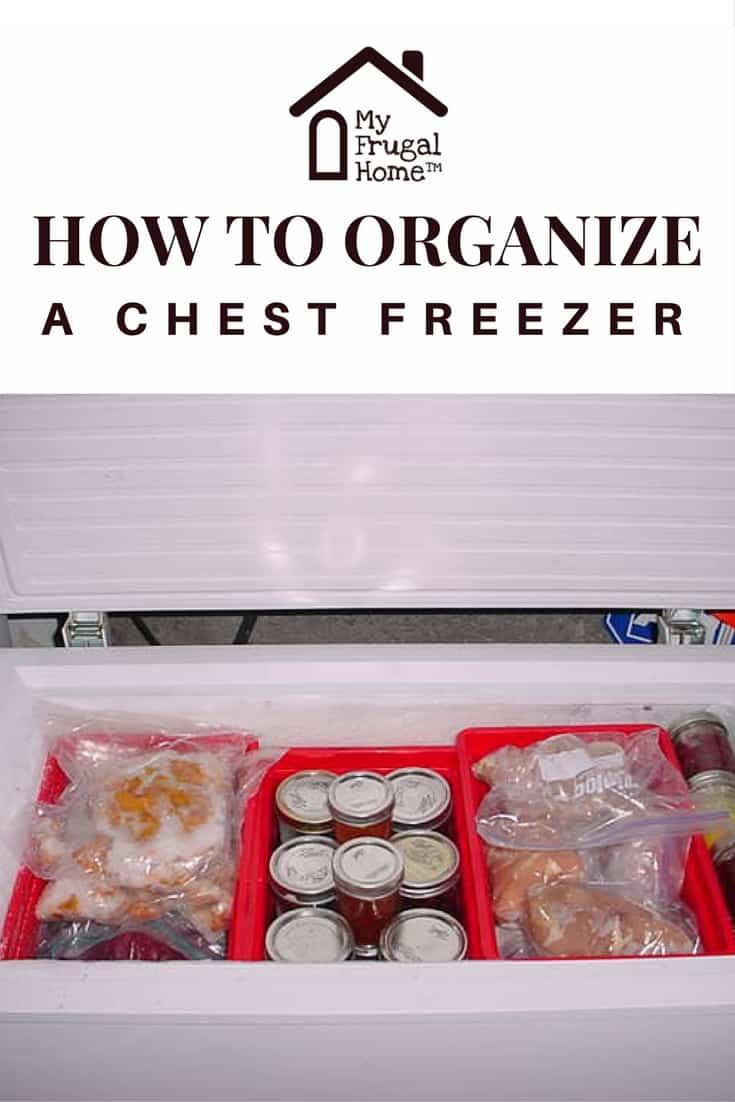 How To Organize A Chest Freezer Deep Freezer Organization Chest Freezer Organization Chest Freezer