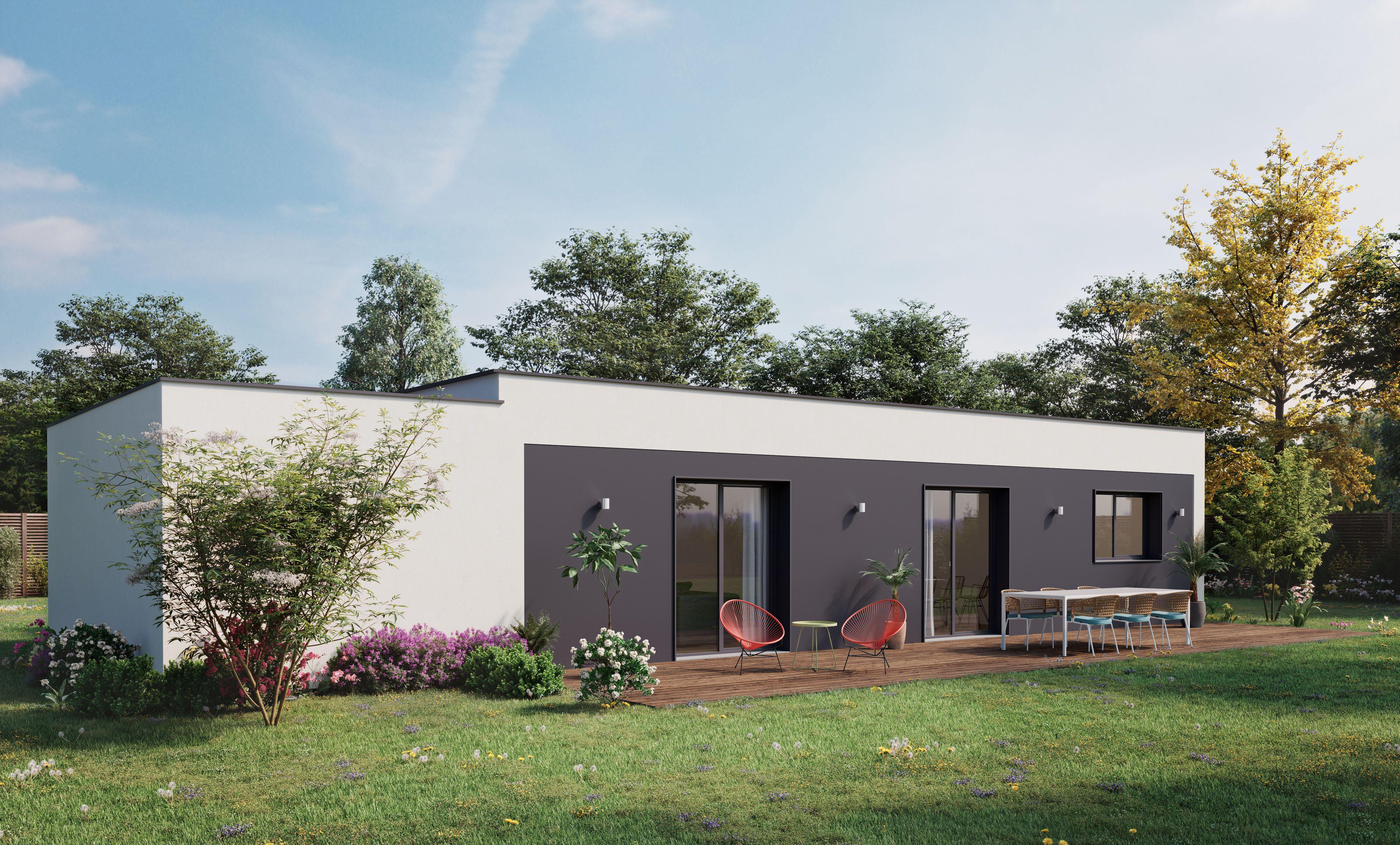 Inspiration SOON en 2020 | Maison ossature bois, Constructeur maison, Maison moderne