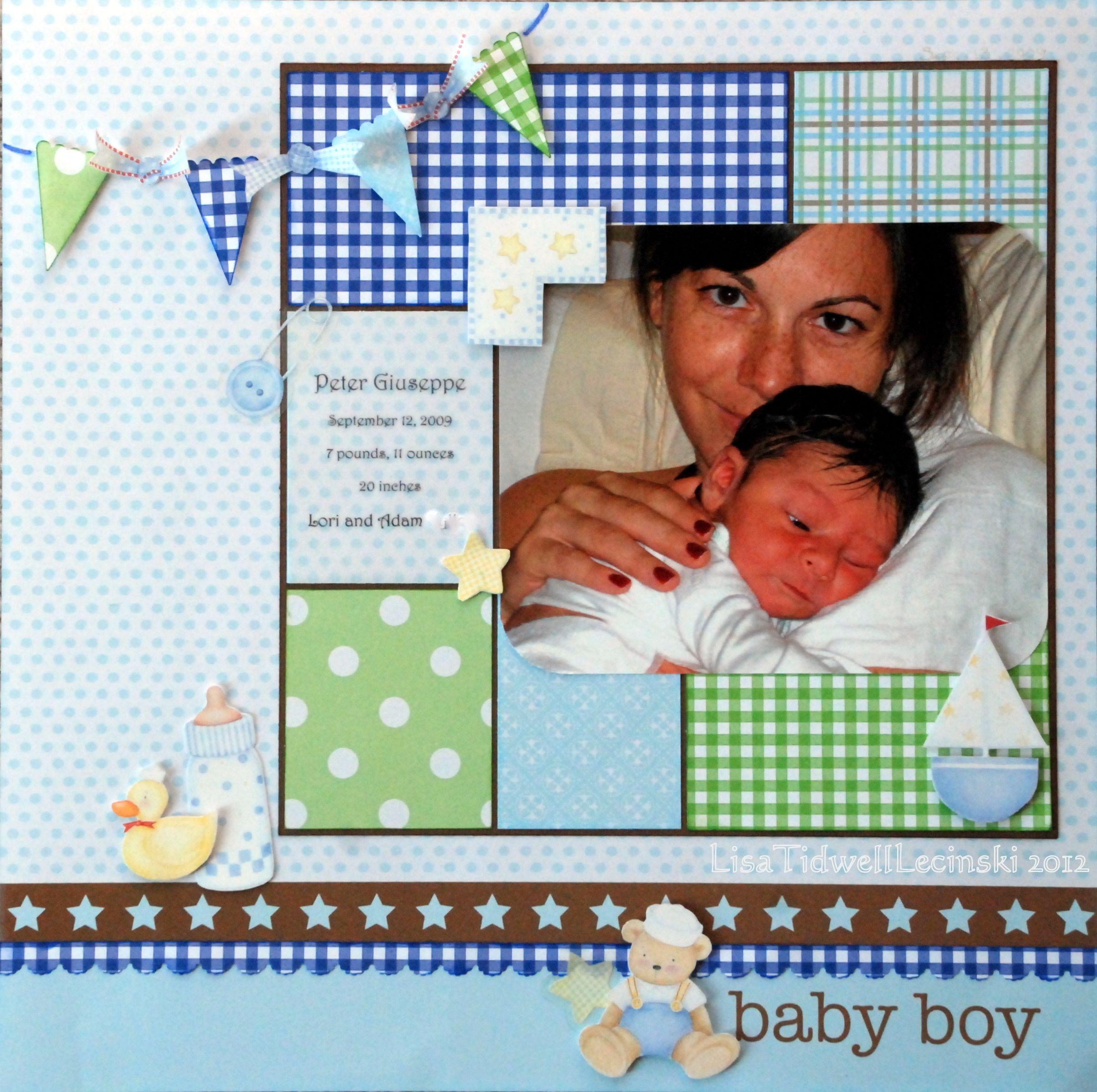 baby boy - Scrapbook.com | scrapbooking | Pinterest | Ikea und Rahmen