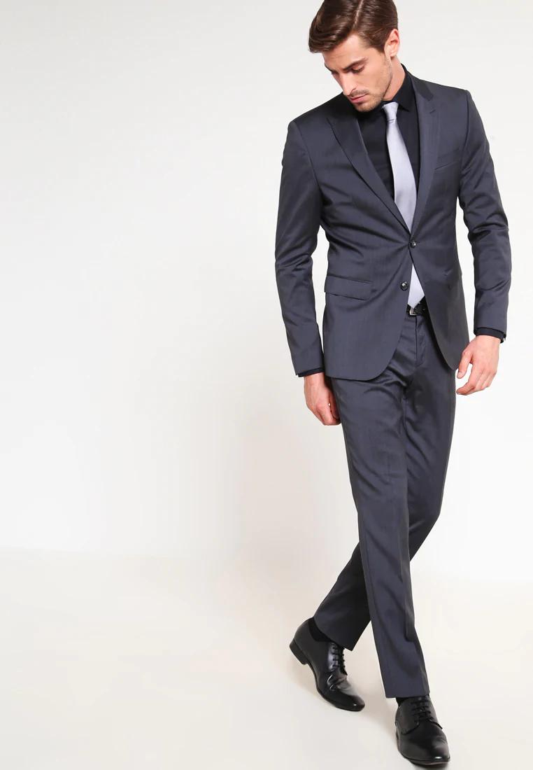 Olymp Super Slim Fit Kosile Schwarz Zalando Cz In 2020 Slim Fit Slim Fitness