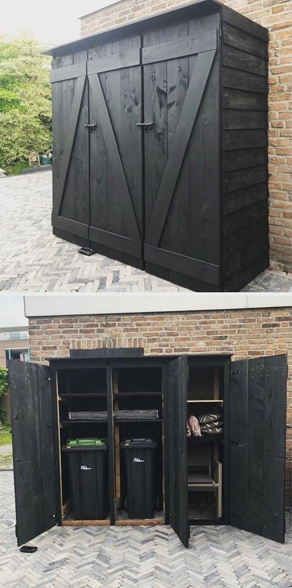 16 Modern And Unique Log Storage Shed Ideas And Plans
